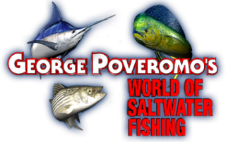 George Poveromo World of Saltwater Fishing Logo| Opens in New Window